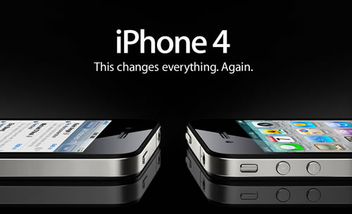 screenshot of apple site